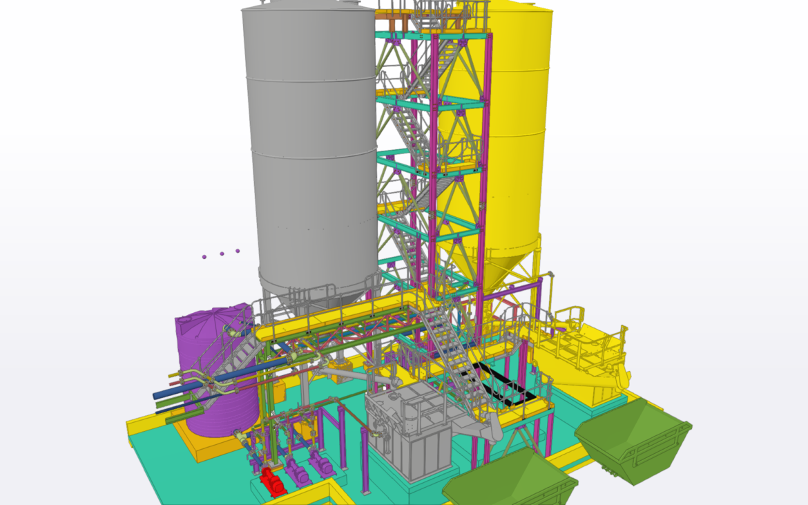 Layout and Detailing of Lime Slaking Plant